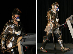 Biomechanics & Physiology of Fighting in Medieval Armour tested with K4 b²