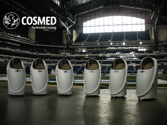 cosmed nfl combine