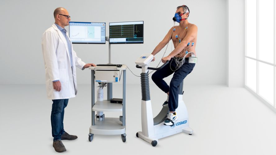 Quark CPET - Cardio Pulmonary Exercise Test