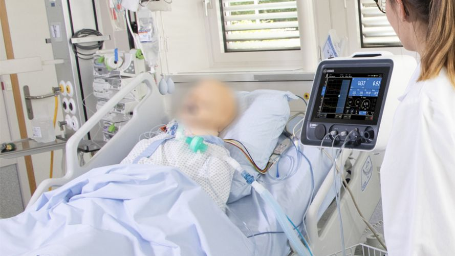 Q-NRG Metabolic Monitor in ICU