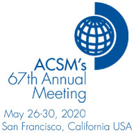 May 26-30, 2020: ACSM's 67th Annual Meeting