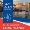 September 19-22, 2020: ESPEN 2020 Virtual Congress