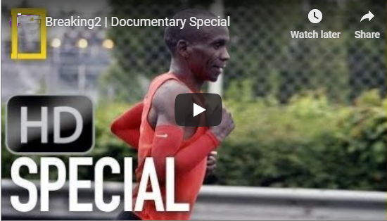 Eliud Kipchoge sets new marathon world record