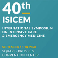 September 15-18, 2020: ISICEM Conference 2020 - 40th International Symposium on Intensive Care and Emergency Medicine