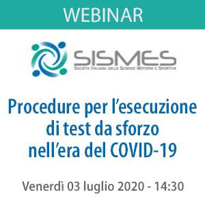 July 03, 2020: SISMES Webinar