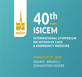 March 24-27, 2020: ISICEM Conference 2020 - 40th International Symposium on Intensive Care and Emergency Medicine