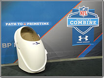BOD POD the exclusive tool for body composition testing at the NFL Scouting Combine