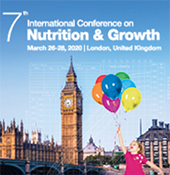 March 26-28, 2020: N&G 2020 - 7th International Conference on Nutrition & Growth